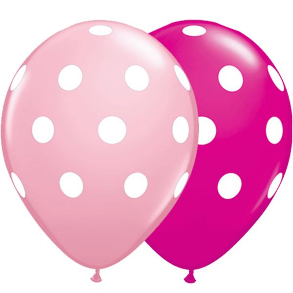 25 Globos topos grandes rosa