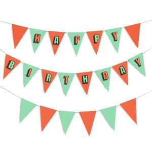 Banderines-cumpleaños