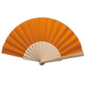 abanico-tela-naranja