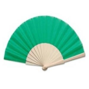 abanico-tela-verde