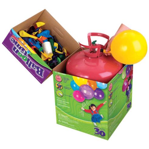 Botella helio desechable perfecto para hinchar los globos - Llenar globos con helio ...
