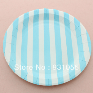 plato-rayas-azules