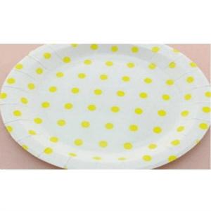 plato-redondo-lunares-amarillo