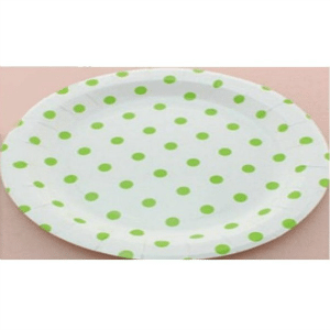 plato-redondo-lunares-verdes