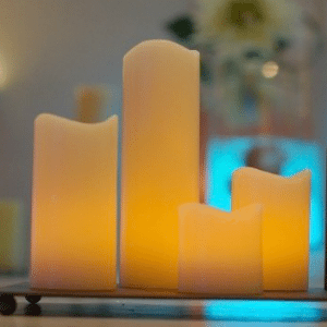 Velas led artesanas sweet dream moment - Velas led con mando ...