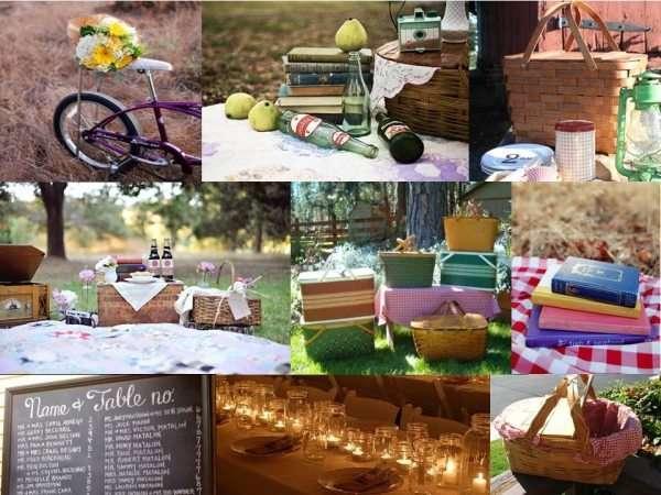 Cosas que necesito para preparar un picnic romantico