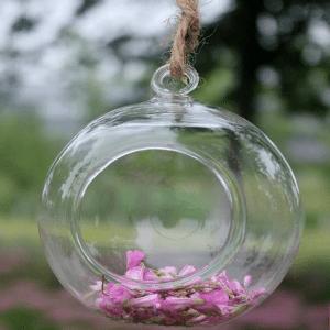 bola de cristal colgante