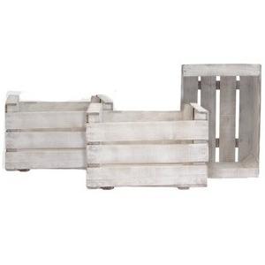 caja madera vintage pintada