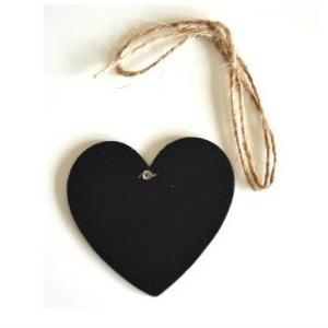pizarra colgante corazon