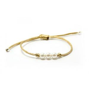 pulsera-perlas-amarilla