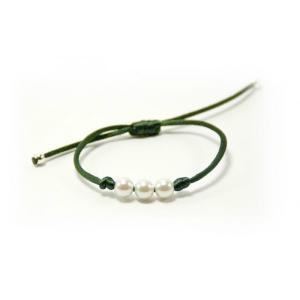 pulsera-perlas-verde-oscuro