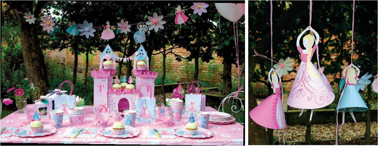 Cumplea os princesas decoracion sweet dream moment for Decoracion cumpleanos princesas