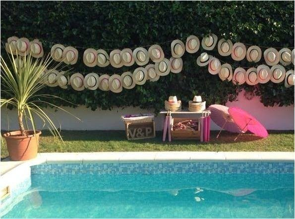 Decoracion boda piscina sweet dream moment - Adornos para piscinas ...