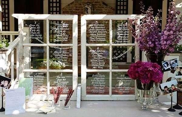 sitting plan boda. Ideas bonitas para diseñarlo