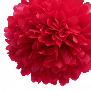 pom-pom-rojo