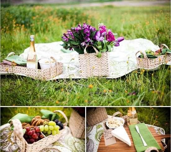 Sorprendele con un picnic magico
