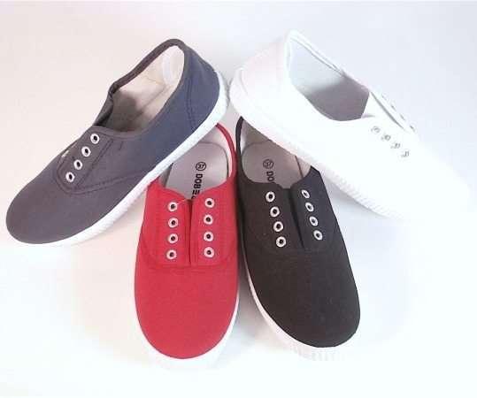 Zapatillas loneta tipo Victoria para Mujer