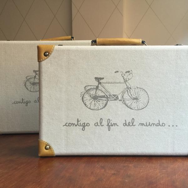 maletas vintage bicicleta