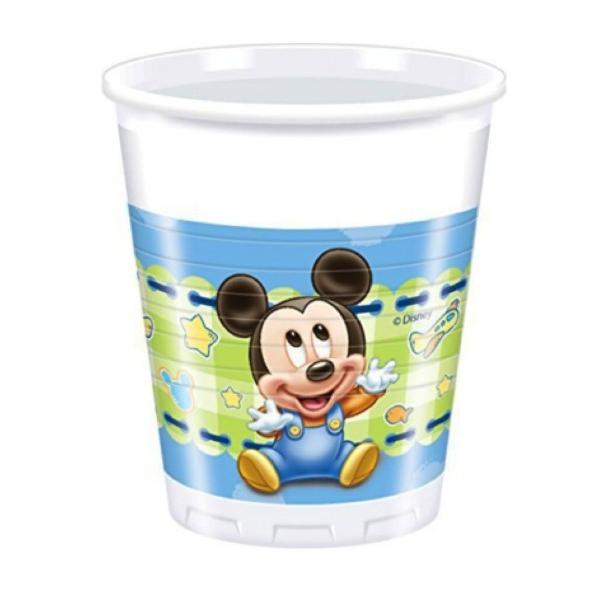 Vasos Bebe Mickey Mouse