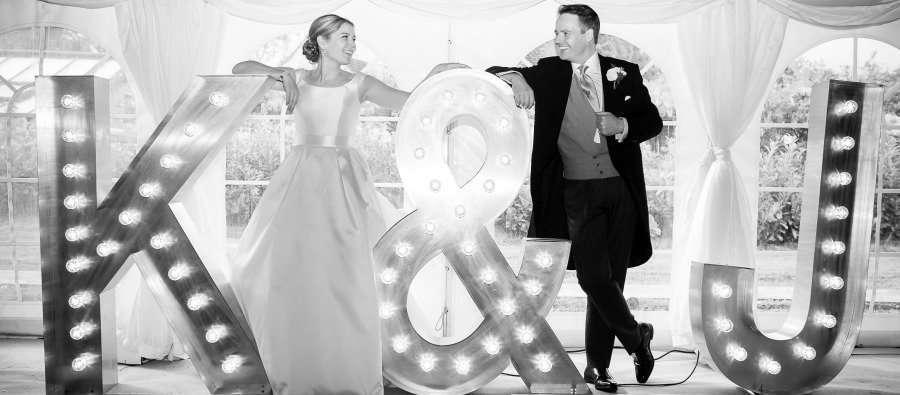 letras a medida para bodas y eventos