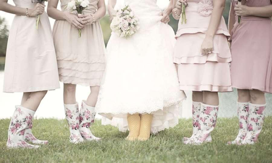 Ideas para una boda genial con lluvia