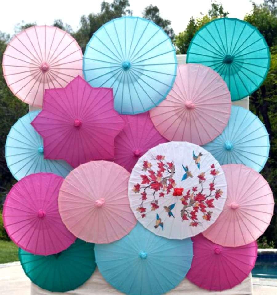 parasoles para boda