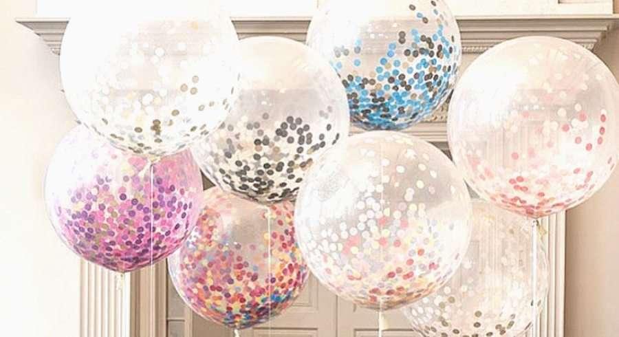 photocall - globos - confeti. Ideas para cumples de verano