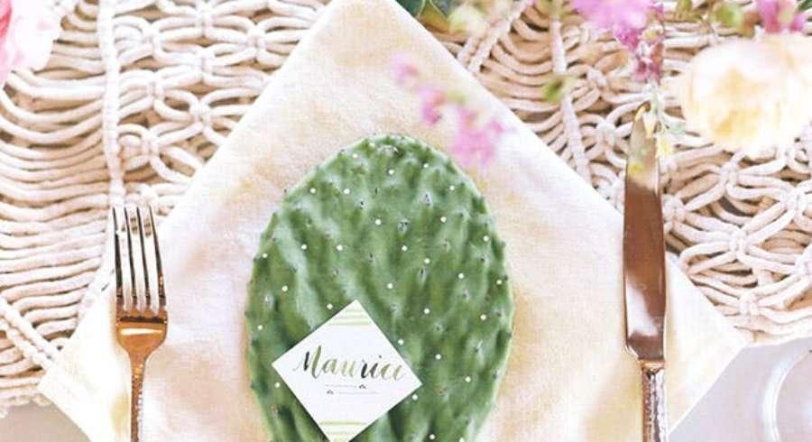 ideas para una boda entre cactus Sweet Dream Moment