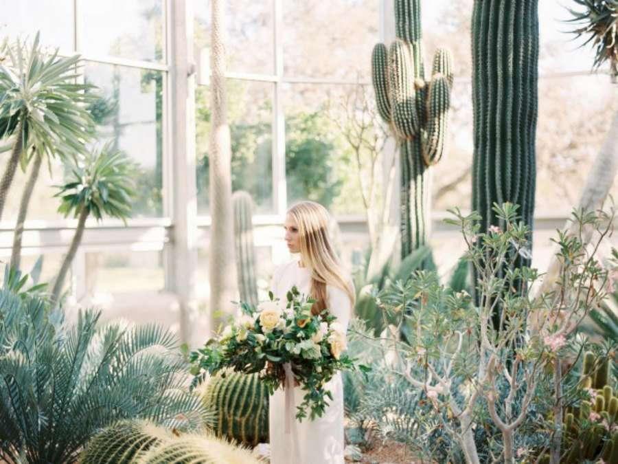 ideas para una boda entre cactus