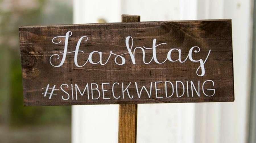 detalles para organizar una boda millenial