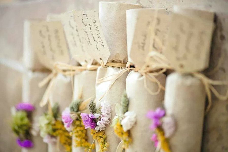 5 ideas para presentar los detalles de tu boda regalos - Detalles para una boda perfecta ...