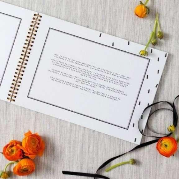 libros de firmas bonitos para bodas