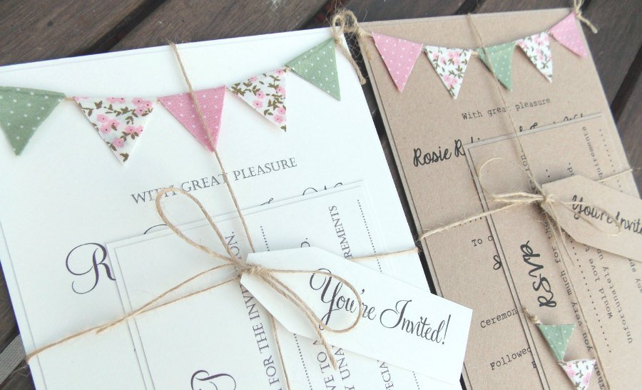5 ideas creativas para una boda original. Invitaciones boda.