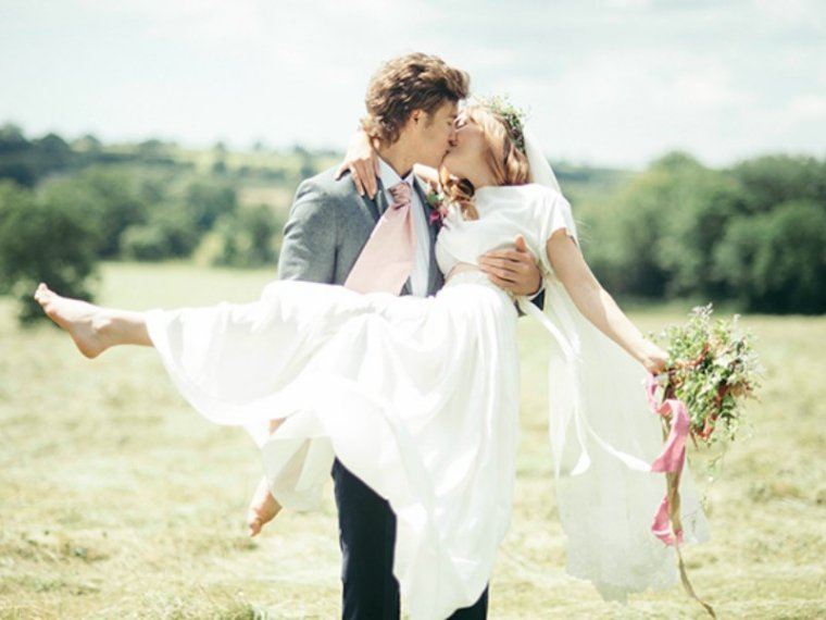 Detalles de una boda campestre