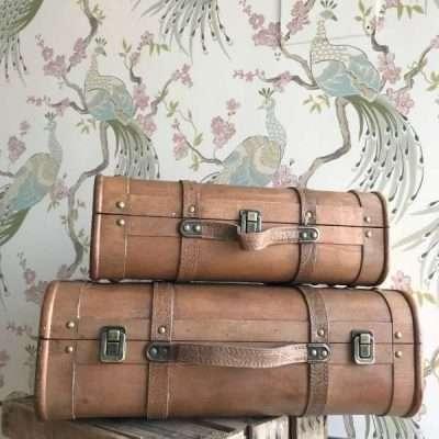 Maletas Vintage Madera