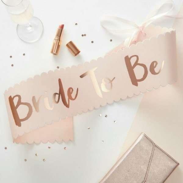 Banda para la novia - Bride to be - despedida de soltera