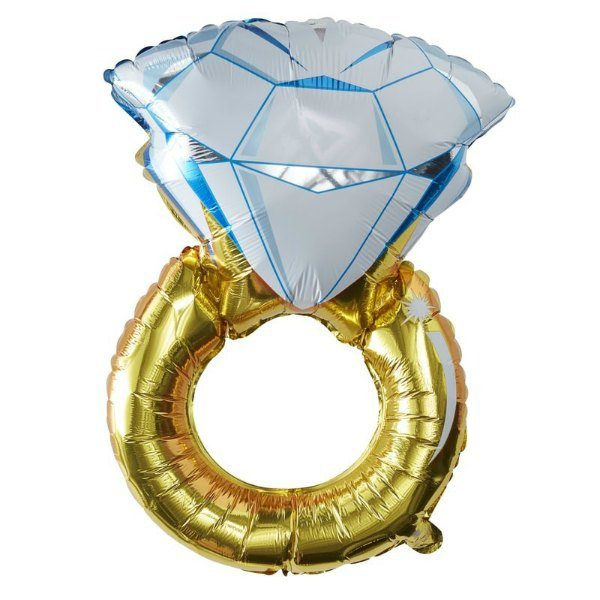 Globo Anillo Pedida Diamante