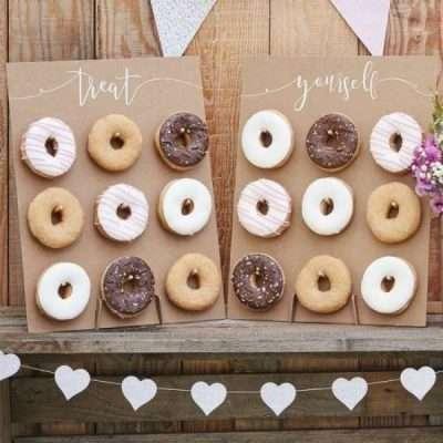 Paredes para donuts