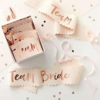 Pack 6 Bandas Team Bride - Sweet Dream Moment