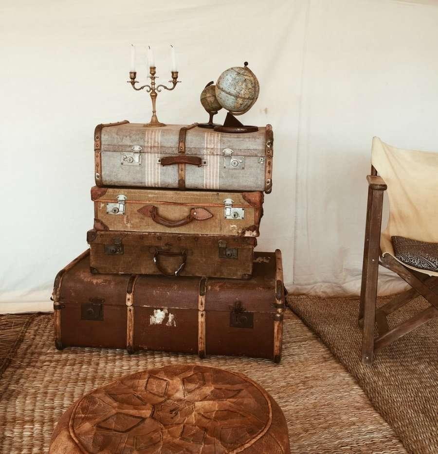 Maletas para un viaje en el desierto- Sweet Dream Moment