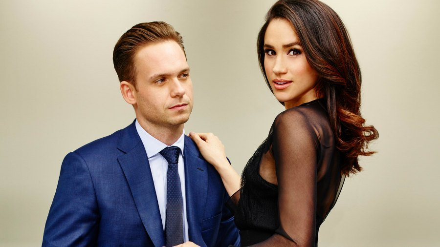 Suits en la Boda real - Mike y Rachel