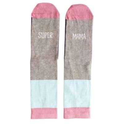 calcetines super mama