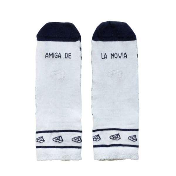 calcetines amiga de la novia