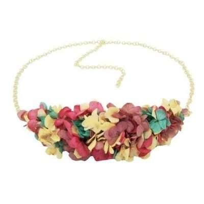 Cinturón flores frontales love