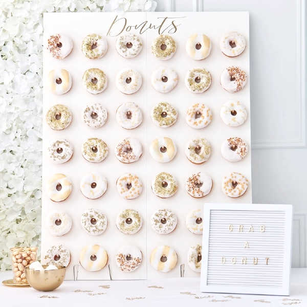 Pared de donuts XL
