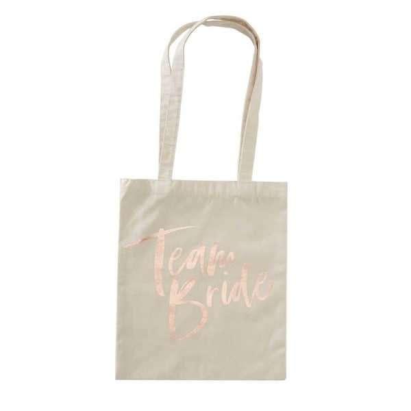 Bolsa de tela team bride