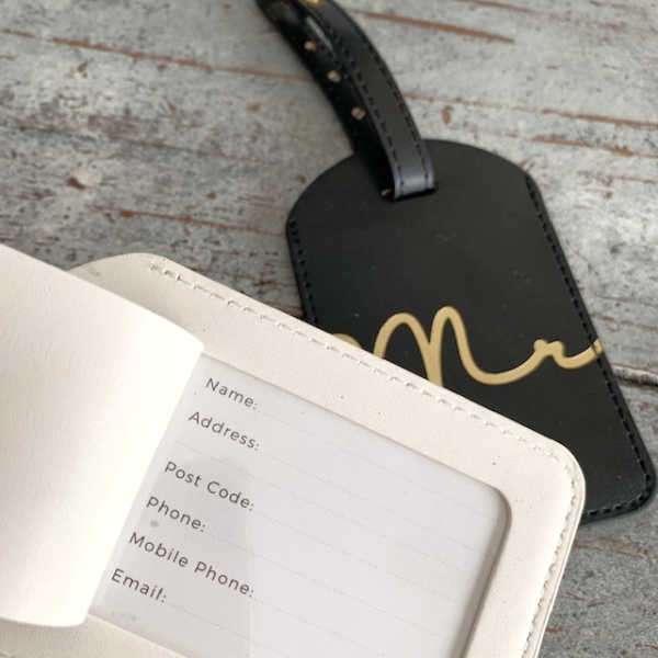 Identificador maleta Mrs - Mr
