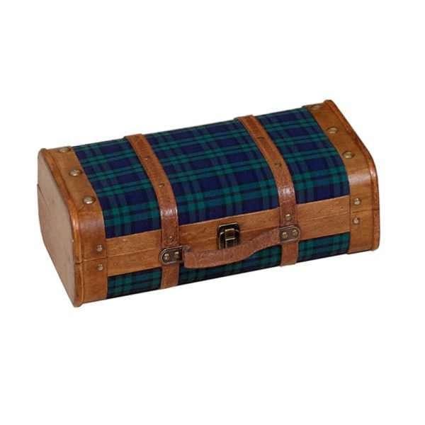 Maleta vintage escocesa