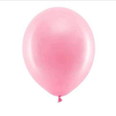 Globos rosa pastel
