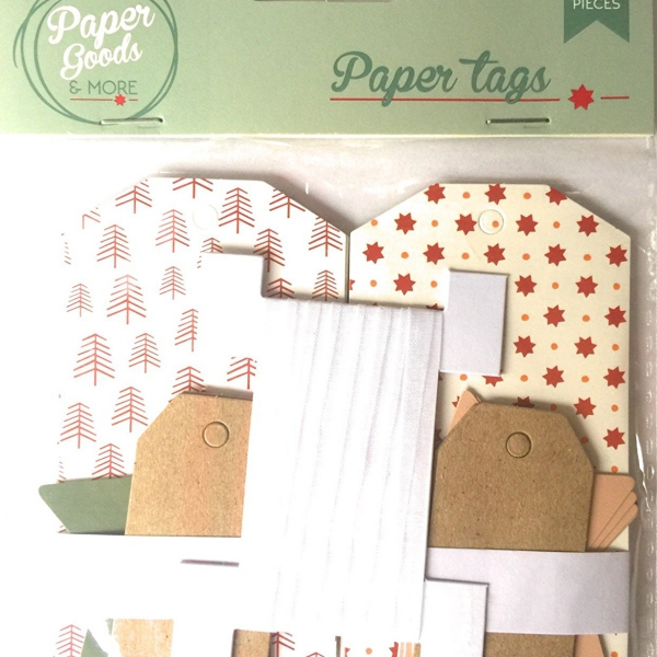 etiquetas de papel